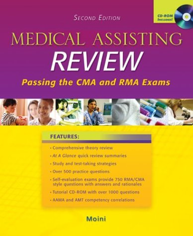 MP: Medical Assisting Review with Student CD-ROM: Moini,Jahangir; Moini, Jahangir
