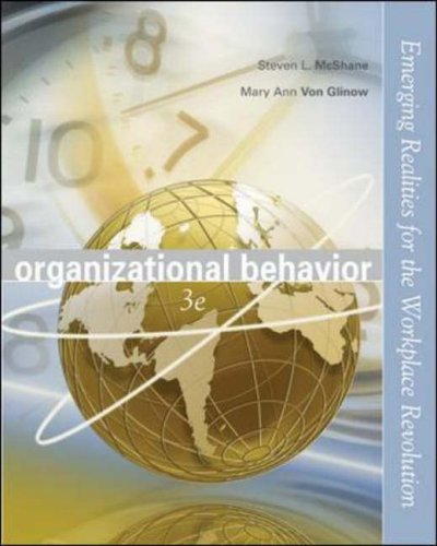 9780072976861: Organizational Behavior with Student CD and OLC/PowerWeb card: Emerging Realities for the Workplace Revolution
