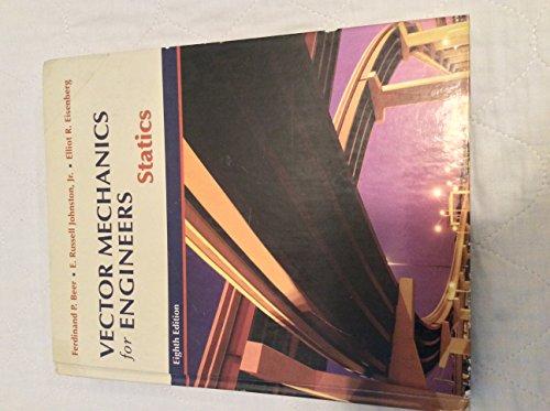 Vector Mechanics for Engineers: Statics (007297687X) by Ferdinand Pierre Beer