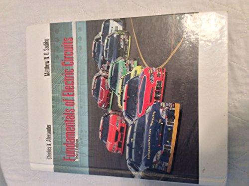 9780072977189: Fundamentals of Electric Circuits