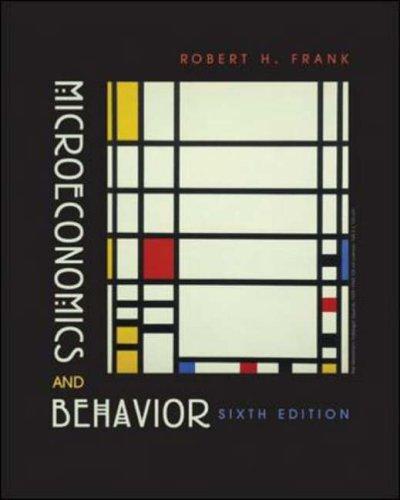 9780072977455: Microeconomics and Behavior