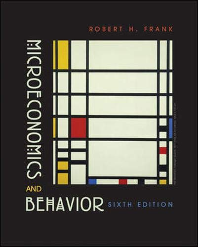 9780072977455: Microeconomics and Behavior