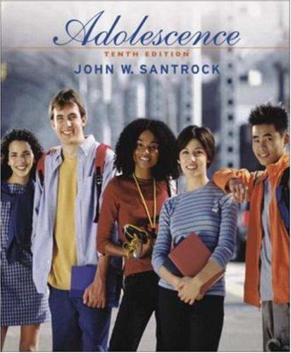 Adolescence with Lifemap CD-ROM and PowerWeb: John W Santrock,