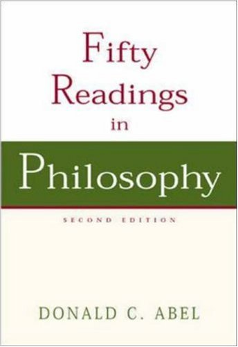 9780072977585: Fifty Readings in Philosophy with PowerWeb: Philosophy