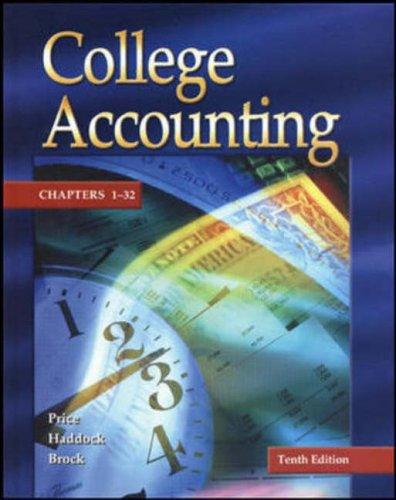 9780072977905: Update Edition of College Accounting - Student Edition Chapters 1-32 w/ NT & PW