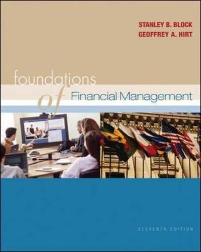 9780072977929: Foundations of Financial Management 11/e + Self-Study CD + Standard & Poor's Educational Version of Market Insight + OLC with PowerWeb
