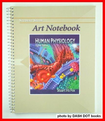 Art Notebook to Accompany Human Physiology: Stuart Ira Fox