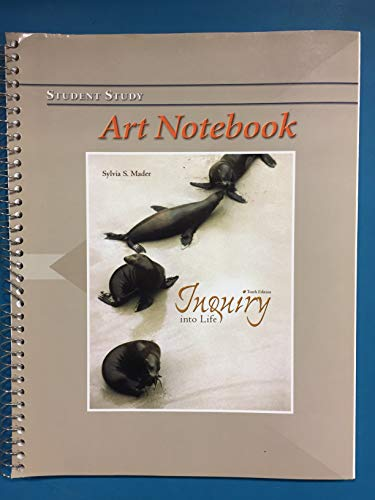 9780072978018: Art Notebook to accompany Inquiry Into Life