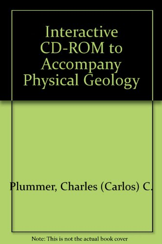 9780072978247: Interactive CD-ROM to accompany Physical Geology