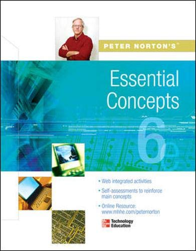 9780072978490: Peter Norton's: Essential Concepts Student Edition 6/e