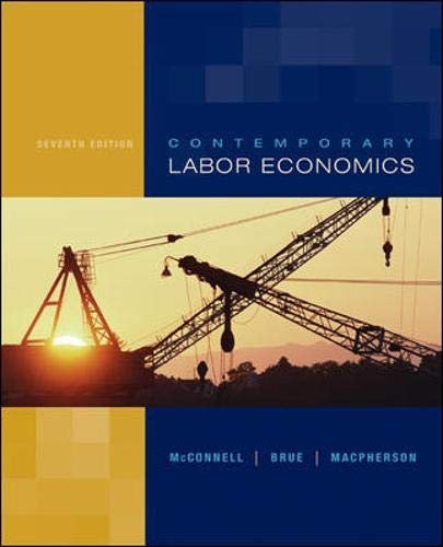 9780072978605: Contemporary Labor Economics