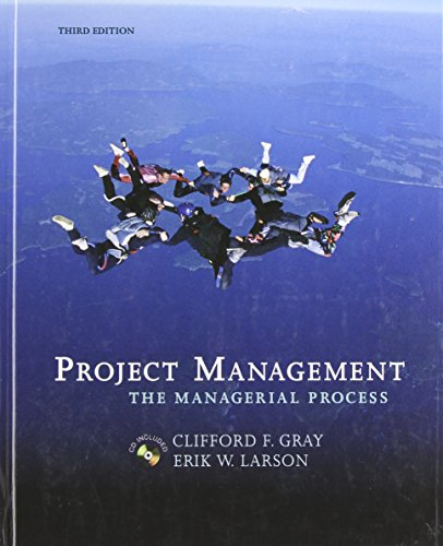 9780072978636: Project Management: The Managerial Process (Mcgraw-Hill/Irwin Series Operations and Decision Sciences)