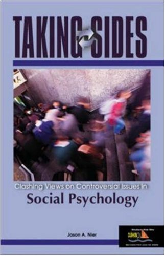 9780072978797: Taking Sides: Clashing Views on Controversial Issues in Social Psychology