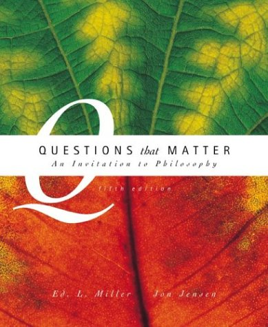 9780072978940: Questions That Matter with Free Philosophy PowerWeb