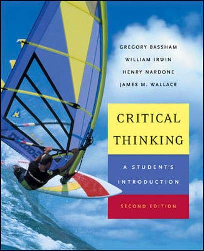 9780072979015: Critical Thinking: A Student's Introduction with PowerWeb: Critical Thinking