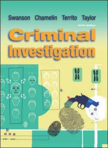 9780072979169: Criminal Investigation
