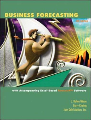 9780072979671: Business Forecasting: Text Alone