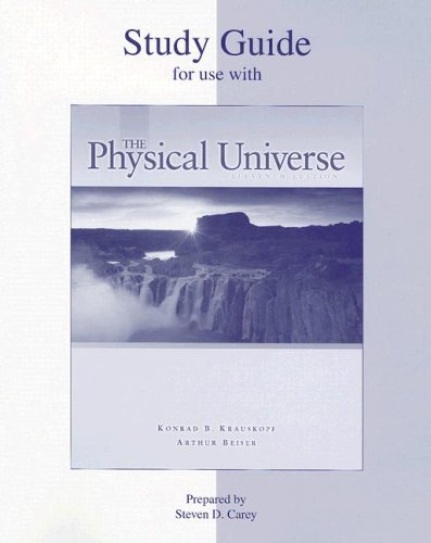 9780072979930: Student Study Guide to accompany The Physical Universe
