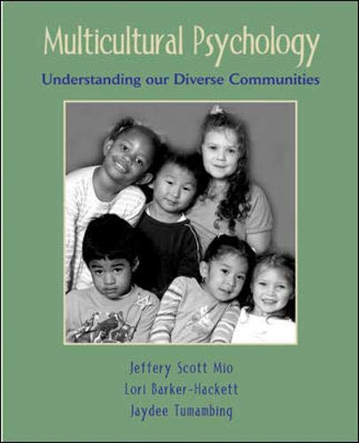 examine at least two emerging issues in multicultural psychology Multicultural psychology is the systematic study of all aspects of human behavior as it occurs in settings where people of different cultural backgrounds encounter each other multiculturalism has been considered a fourth force in the field of psychology, supplementing behaviorism, psychodynamic theories, and humanistic psychology.