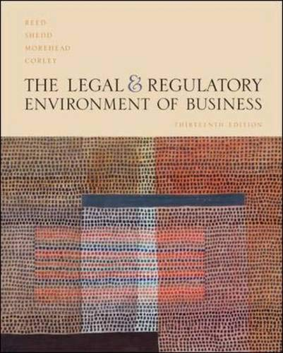 The Legal and Regulatory Environment of Business: Lord Reed
