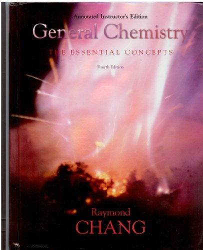 9780072980257: General Chemistry: The Essential Concepts