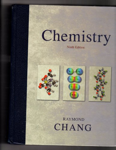 9780072980684 Chang Chemistry 9th Edition Annotated