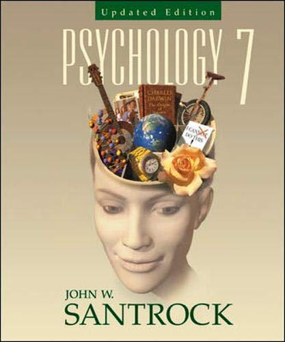 Psychology with In-Psych Plus Student CD-ROM and: John W Santrock,