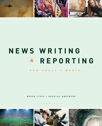 9780072981094: News Writing and Reporting for Today's Media