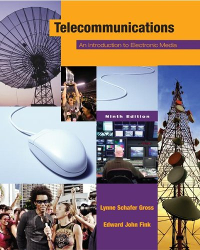9780072981148: Telecommunications: An Introduction to Electronic Media