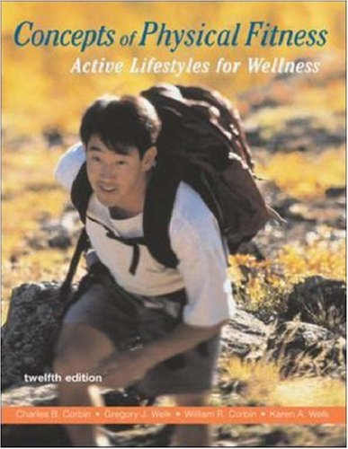 9780072981292: Concepts of Physical Fitness: Active Lifestyles for Wellness with HQ 4.2 CD & PowerWeb/OLC Bind-in Card