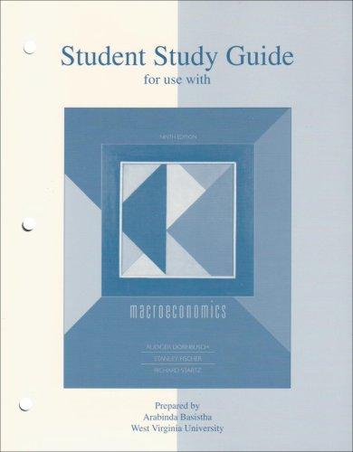 9780072981827: Student Study Guide t/a Macroeconomics 9e
