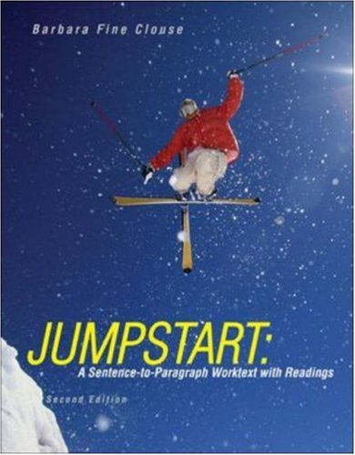 9780072982039: Jumpstart: A Sentence-to-Paragraph Worktext with Readings