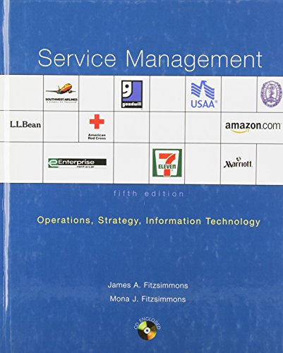 9780072982305: Service Management Operations: Operations, Strategy, And Information Technology (Irwin/Mcgraw-Hill Series in Operations and Decision Sciences.)