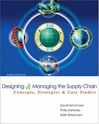 9780072982398: Designing and Managing the Supply Chain (McGraw-Hill/Irwin Series in Operations and Decision Sciences)
