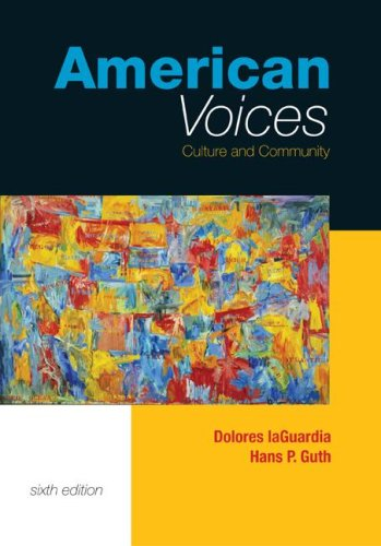 9780072982640: American Voices: Culture and Community (book alone)