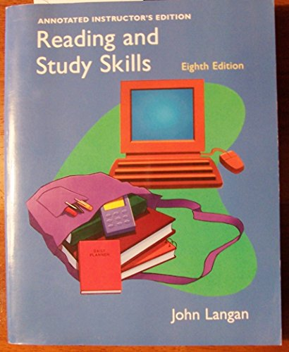 9780072982831: Reading and Study Skills: Annotated Instructor's Edition
