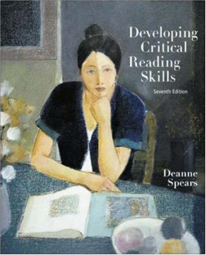 9780072982909: Developing Critical Reading Skills