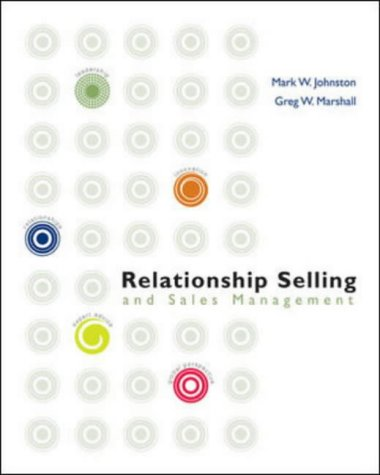 9780072983173: Relationship Selling and Sales Management w/ Act! Express CD-Rom (Mcgraw-Hill/Irwin Series in Marketing)