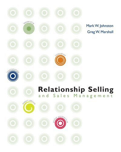 9780072983173: Relationship Selling and Sales Management (Mcgraw-Hill/Irwin Series in Marketing)