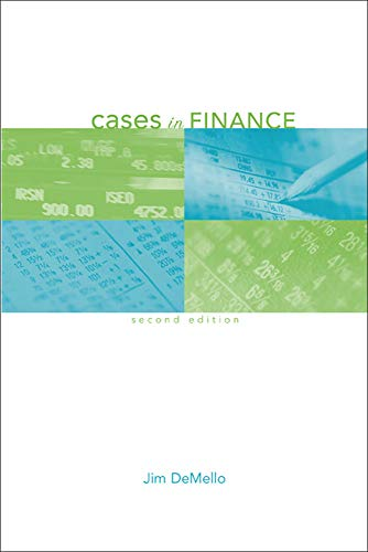 9780072983227: Cases in Finance (McGraw-Hill/Irwin Series in Finance, Insurance, and Real Est)