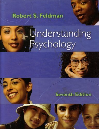 Understanding Psychology Seventh Edition 7th edition by Feldman (2005) Hardcover (0072983841) by Feldman