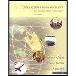 9780072983913: Operations Management for Competitive Advantage. Richard B. Chase, F. Robert Jacobs, Nicholas J. Aquilano