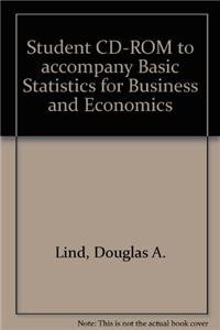 9780072983975: Student CD-ROM to accompany Basic Statistics for Business and Economics
