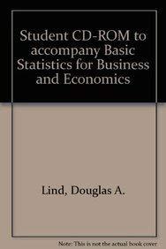 9780072983975: Basic Statistics for Business and Economics: Student CD-ROM