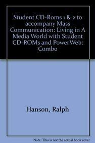 9780072984286: Mass Communication: With Student CD-ROMs and Powerweb: Living in a Media World