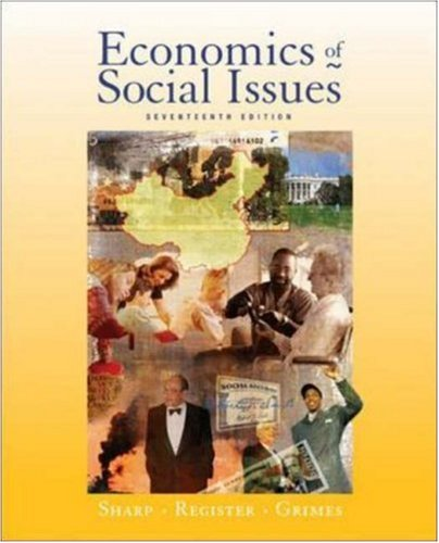 9780072984354: Economics of Social Issues