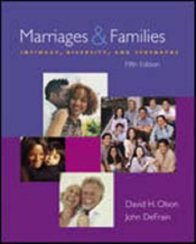 9780072985276: Marriages And Families: Intimacy, Diversity, And Strengths