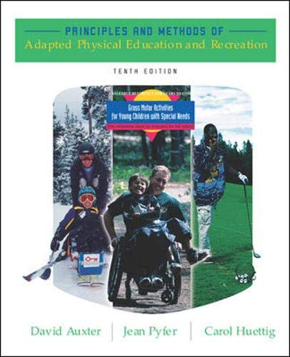 9780072985382: Principles and Methods of Adapted Physical Education and Recreation with Activities Booklet & PowerWeb Bind-in Card