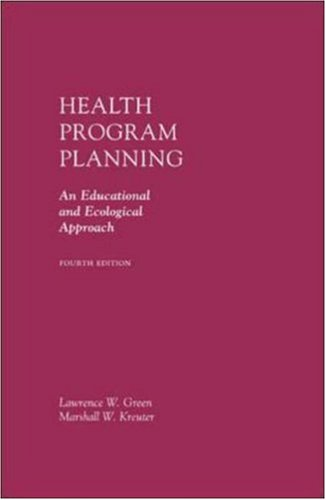 9780072985429: Health Program Planning: An Educational and Ecological Approach with PowerWeb Bind-in Card