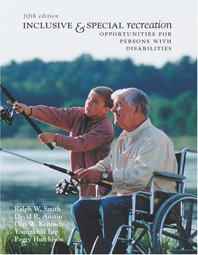9780072985443: Inclusive and Special Recreation: Opportunities For Persons With Disabilities with PowerWeb Bind-in Card